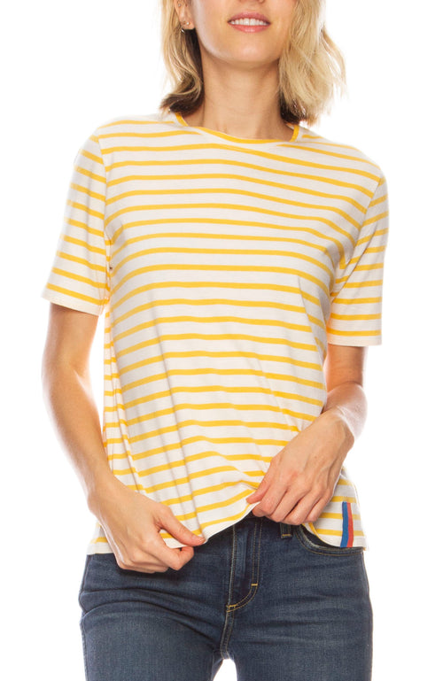 The Modern Short Sleeve Stripe Shirt