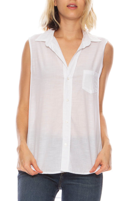 Fiona Chambray Top