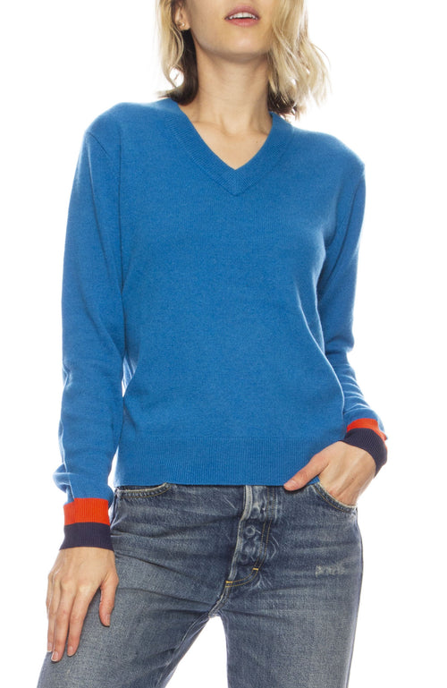Sawyer V Neck Sweater