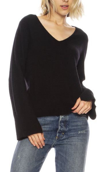 Slit Sleeve Sweater