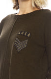 Army Patch Sweater