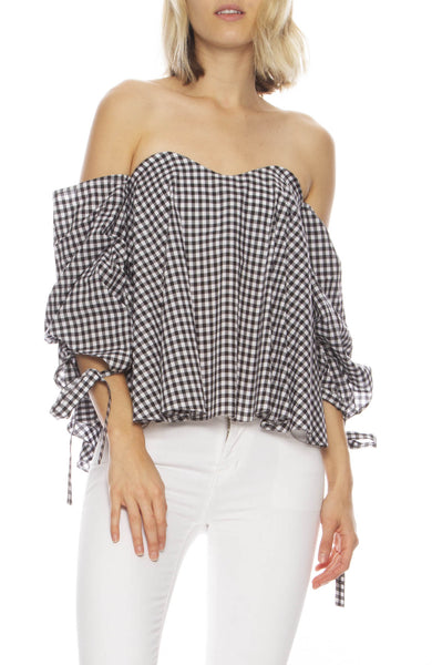 Gabriella Gingham Top