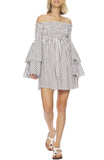 Appolina Striped Dress