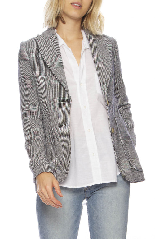 Portrait Neck Blazer