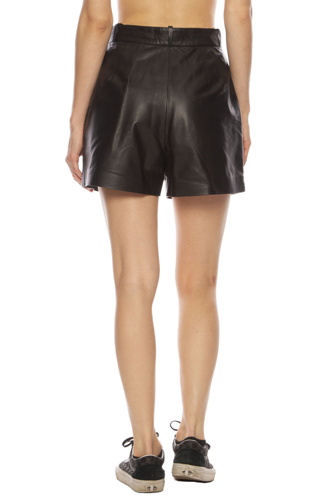 Roxana Leather Short