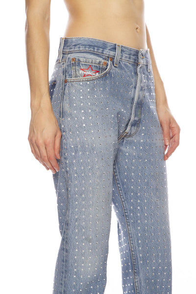 Levi's Jean with All Over Rhinestones
