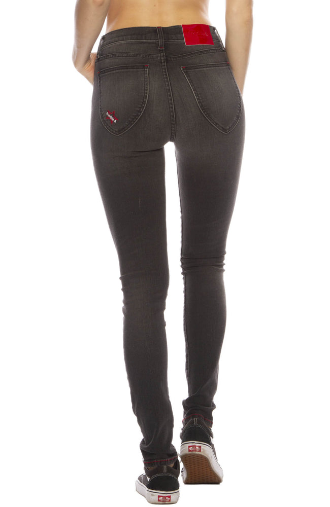 High Rise Skinny in Black