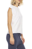 Tee Lab by Frank & Eileen Vintage Muscle Tee in Whiteout