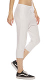 Tee Lab by Frank & Eileen Super Crop Sweatpants in Dirty White