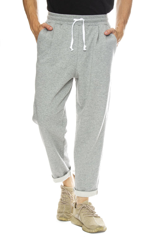Hiro Clark Classic Tailored Sweatpants in Grey