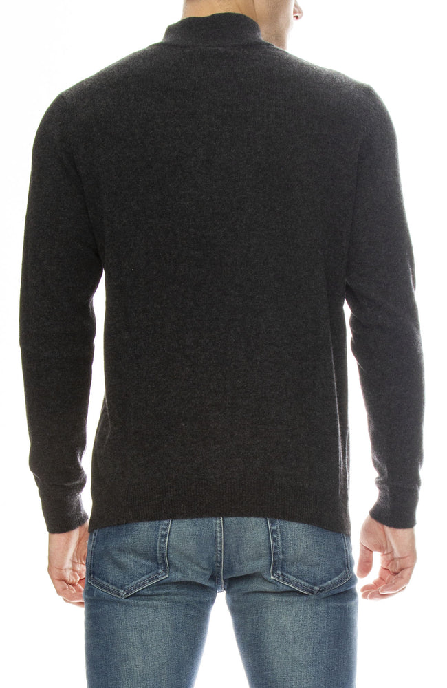 Today is Beautiful / Ron Herman Exclusive Zip Mock Neck Cashmere Sweater