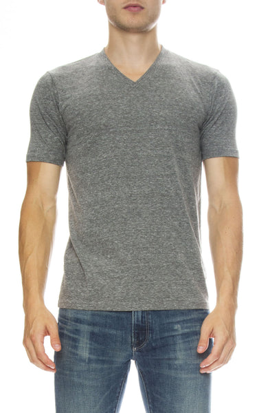 Ron Herman x Goodlife Exclusive V Neck T-Shirt in Heather Grey