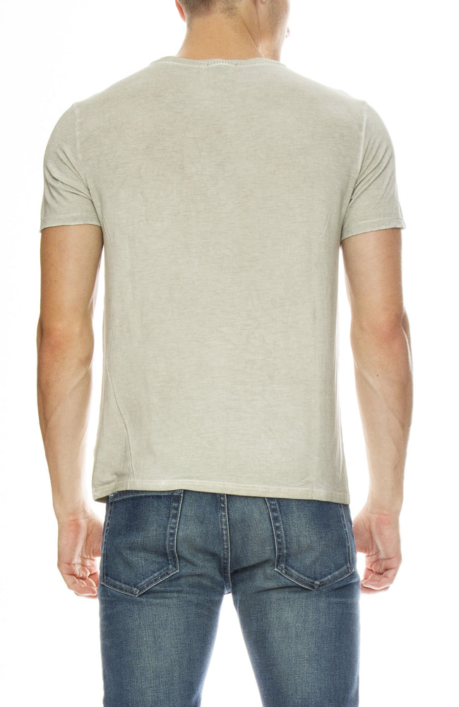 ATM Mens Sun Bleached Jersey Tee in Sand