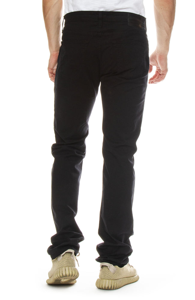 AG Jeans Mens Matchbox Slim Straight Jean in Super Black