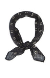 Chan Luu Dotted Neckerchief in Black