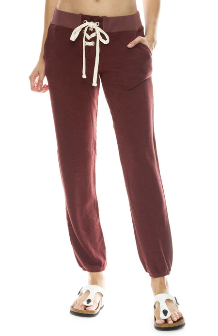 Super Soft Lace Up Sweatpants