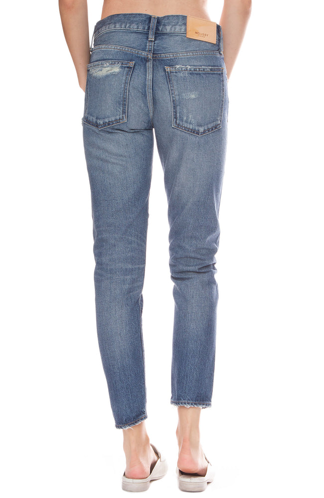 Moussy Vintage MV Vienna Tapered Jean in Blue