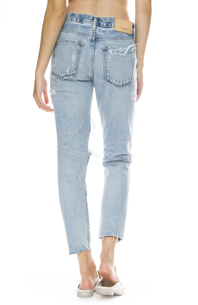 Moussy Vintage MV Branford Tapered Jean in Light Blue