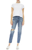 Moussy Vintage MV Marshall Boy Skinny in Blue