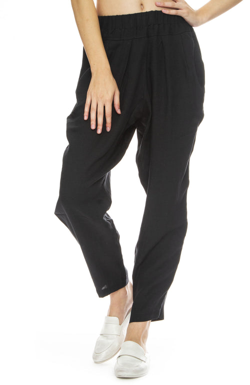 Black Crane Carpenter Pants in Dark Green