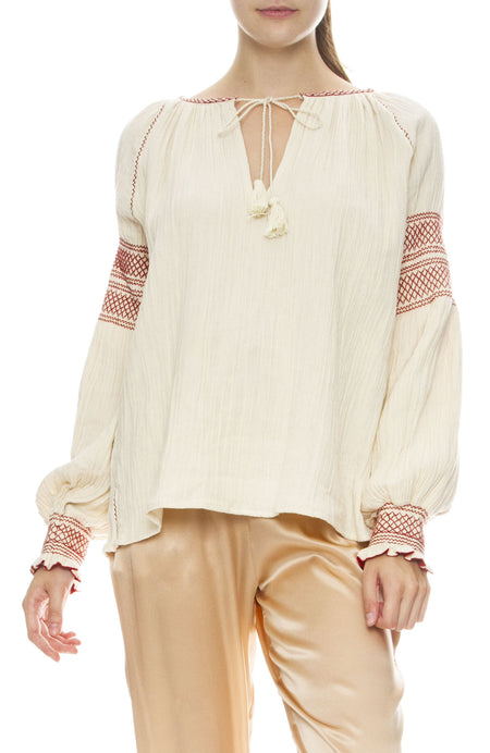 Tricis Smock Blouse