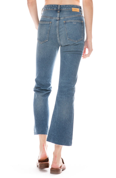 Wes Crop Flare Jean