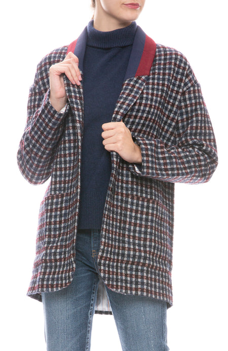 The Nathan Plaid Coat