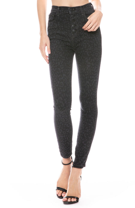 Lillie High Rise Crop Jean in Savannah