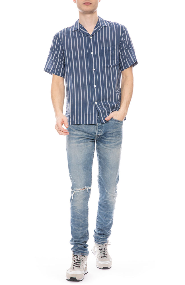 Jimmy Textured Stripe Shirt