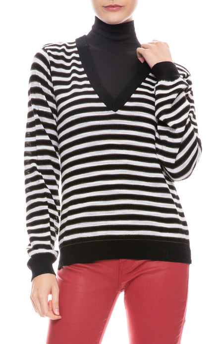 Sutton Striped Sweater