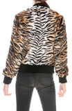 Faux Fur Tiger Jacket