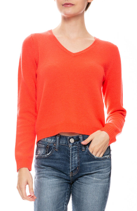 Wool V Neck Sweater