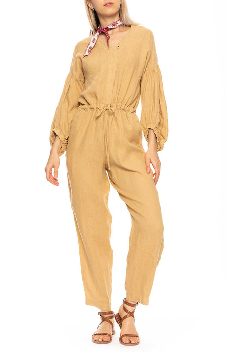Balloon Sleeve Jumpsuit