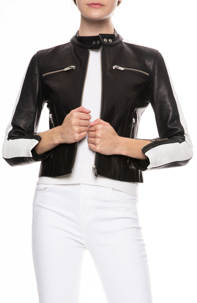 Lucca Waxed Leather Jacket