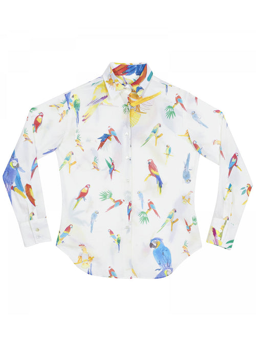 Les Perroquets Button Down Shirt
