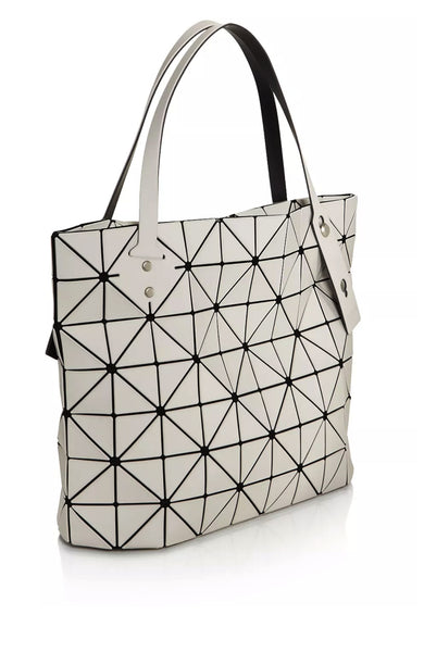 Bao Bao Issey Miyake Light Beige Rock Frost Shoulder Bag