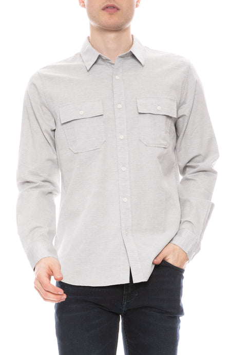 Bedford Shirt in Gris