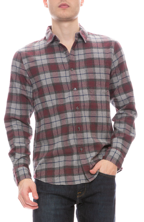 Brushed Plaid Shirt