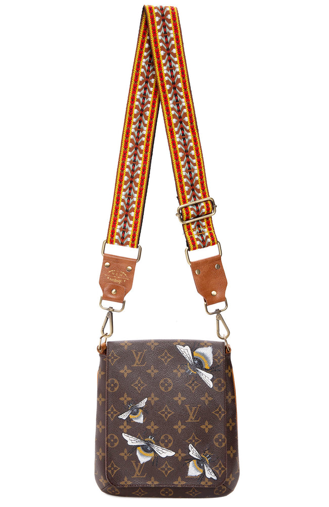 New Vintage LV Musette Salsa Bees Knees Bag at Ron Herman
