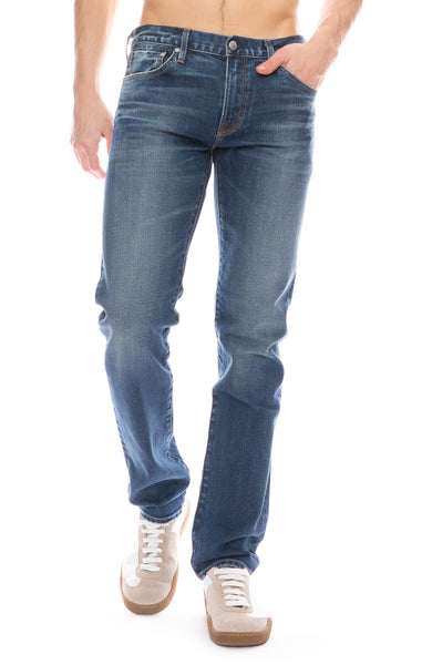 Hunter Raw Edge Dark Wash Jean in Dart