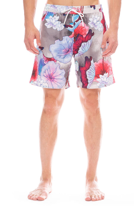 Vivid Lotus Swim Short