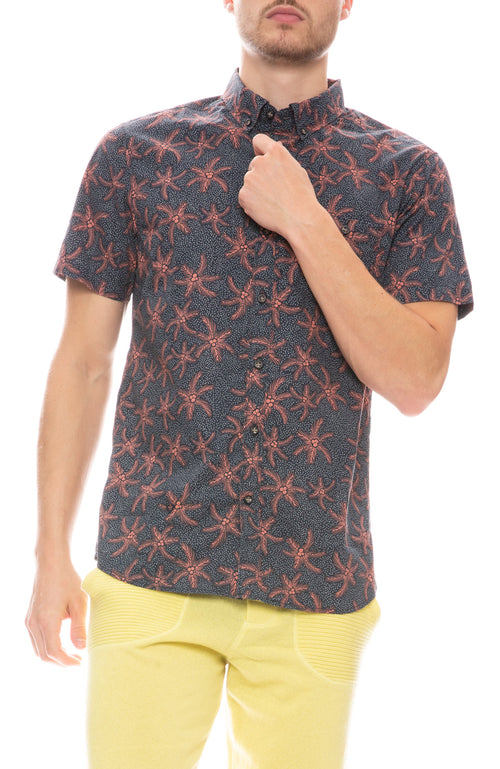 Palms Up Woven Shirt
