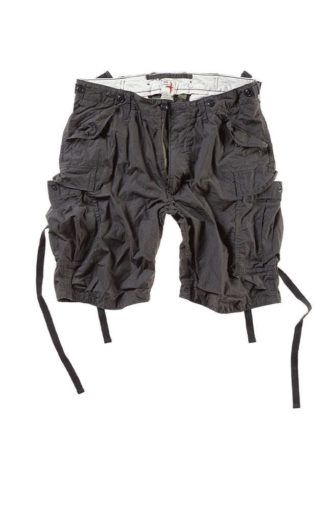 Cotton Nylon Commando Shorts