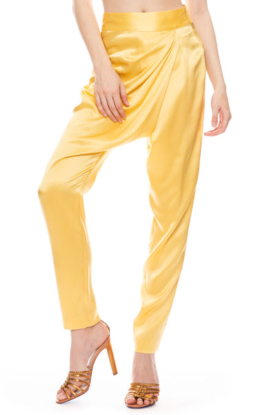 Draped Asymmetrical Pant