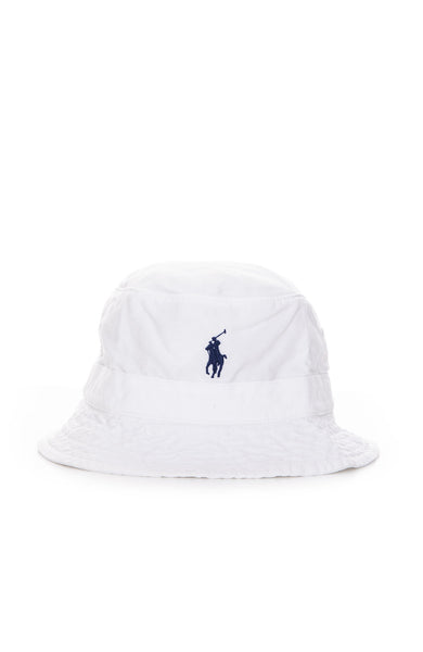 Exclusive Loft Bucket Hat in White