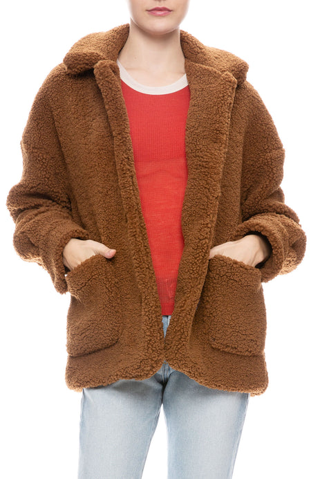 Teddy Pocket Jacket