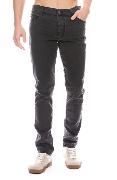 Slim Cut Washed Jean