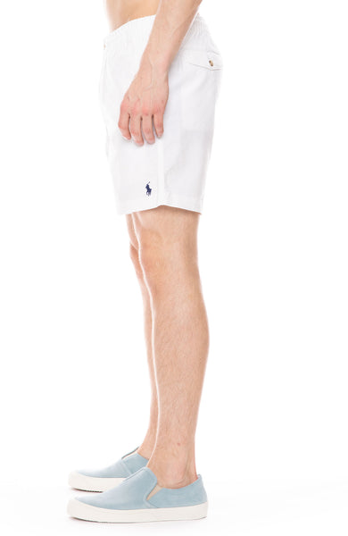 Exclusive Prepster Short in White