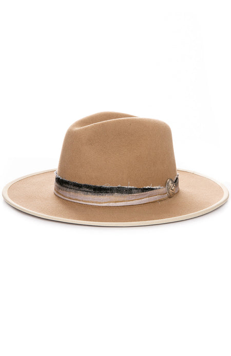 Mountain and Sea Felt Fedora