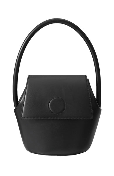 Arch Handle Bucket Bag